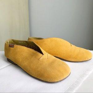 CAMPER Boho Suede Moccasin Style Loafer Flats